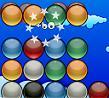 משחק כדורי קריסטל. תחליפו בין הכדורים ככה שיהיו 4 כדורים באותו צבע אחד ליד השני והם יעלמו. אסור שהמסך יתמלא בכדורים.