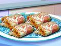 עוד משחק של סדנת בישול. והפעם: רולים של לזניה(מאכל איטלקי המבוסס על דפי פסטה עם רוטב וגבינה). תכינו אותה לפי ההוראות.
