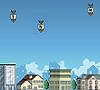 אתם צריכים להגן על העיר.. תלחצו במקלדת על מה שרשום על הטילים כדי שלא יפגעו בעיר.