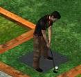 גולף לשניים