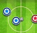 משחק אונליין שיש גם באנדרואיד ובאייפון , משחק כדורגל הזזה בנגיעה נגד אנשים מהעולם